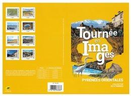 """France 2019 Collector """" TOURNÉE EN IMAGES - PYRÉNÉES ORIENTALES """"8v MNH /Neuf** - Collectors"""