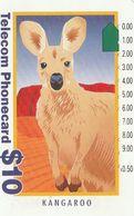 Australia, G930123a, Second Generic, Tourist-Kangaroo (old Logo), 2 Scans. - Australie