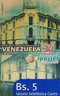 VENEZUELA - Ipostel 30 Años(Carmelitas), CANTV Magnetic Telecard Bs.5, 09/08, Used - Venezuela