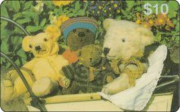 Hong Kong Calling Card Teddybär - Hong Kong