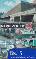 VENEZUELA - Ipostel 30 Años(Camiones), CANTV Magnetic Telecard Bs.5, 09/08, Used - Venezuela