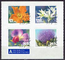 Suisse 2011 - Flora, Fleurs - Michel 2193-96 - Used, Oblitéré, Gest. - Used Stamps