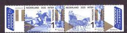 Nederland / Niederlande / Pays Bas NEW Stamp Full Series Old Postage Routes MNH ** (2020) - Unused Stamps