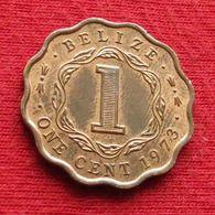 Belize 1 Cent 1973 KM# 33  Beliz Belice One Cent - Belize