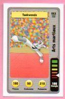 IM474 : Carte Looney Tunes Auchan 2014 / N°063 Arts Martiaux Taekwondo - Trading Cards