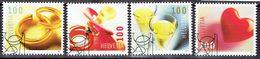 Suisse 2011 - Timbres De Voeux - Michel 2215-18 - Used, Oblitéré, Gest. - Used Stamps
