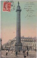 F0614 PARIS - LES ANIMATIONS DEVANT LA COLONNE VENDÔME - Andere Monumenten, Gebouwen