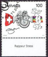 Suisse 2011 - Oeuvre D'art De Rappeur Stress - Michel 2227 - Used, Oblitéré, Gest. - Used Stamps