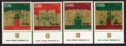 ISRAELE - 1972 - Gates Of Jerusalem - MNH - Neufs (avec Tabs)