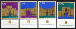 ISRAELE - 1971 - Gates Of Jerusalem - MNH - Neufs (avec Tabs)