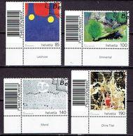 Suisse 2011 - Oeuvres D'art Des Artistes Handicapés - Michel 2210-13  - Used, Oblitéré, Gest. - Used Stamps