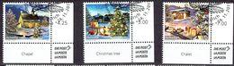 Suisse 2011 - Timbres De Noel - Michel 2224-26 - Used, Oblitéré, Gest. - Used Stamps