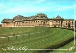 CPM 60 (Oise) Chantilly - L'hippodrome Et Les Grandes Ecuries TBE Chevaux, équitation, Hippisme - Chantilly