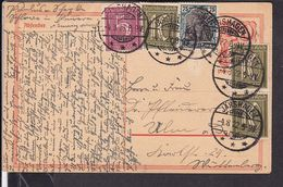 Ganzsache Deutsches Reich  Stempel Järshagen   1922  (gi64) - Deutschland