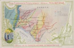 PUB CHOCOLAT AIGUEBELLE @  MAURITANIE @ - Mauritania