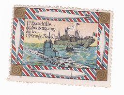 Vignette Militaire Delandre - Marine - 1ère Escadrille De Sous Marins - Militario