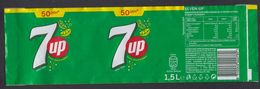 7up, 2020, LABEL, REPUBLIC OF NORTH MACEDONIA - Etiquettes