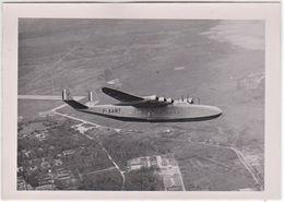Photo Aviation  Hydravion Latecoere F - BANT Survolant Biscarosse  Photo Service Cinématographique De L'air - Aviation