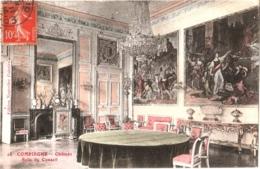 CPA 60 (Oise) Compiègne - Château. Salle Du Conseil TBE COULEUR 1912 édit. Nouvelles Galeries - Compiegne