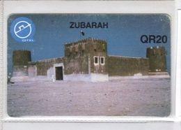 Carta Telefonica Quatar - Zubarah  -  Carte Telefoniche@Scheda@Schede@Phonecards@Telecarte@Telefonkarte - Qatar