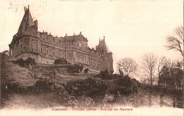 CPA 60 (Oise) Liancourt - Château Latour, Vue Sur Les Rochers TBE Avec Des Oiseaux Au 1er Plan (hérons Ou Grues) - Liancourt