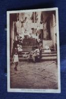 U-75 /  Campania  Napoli (Naples) - Napoli Vecchia. Biancheria Al Sole / Circule 19? - Napoli