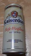 Lattina Italia - Birra Kaiserdom Hefe-WeiBbier - 1 Litro -  ( Lattine-Cannettes-Cans-Dosen-Latas) - Cannettes
