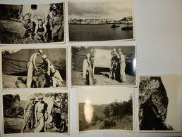 LOT DE 7 PHOTOS GUERRE ALGÉRIE MILITAIRE FRANÇAIS - Guerra, Militares