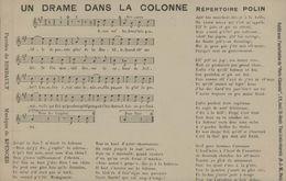 Un Drame Dans La Colonne - Répertoire Polin - Musique