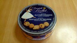 Scatola In Metallo - Biscotti Danish Ballet - Butter Cookies - Cajas/Cofres