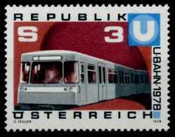 ÖSTERREICH 1978 Nr 1567 Postfrisch S0035DE - 1945-.... 2. Republik