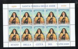 2020 - VATICAN - VATICANO - VATIKAN - S14 - MNH SET OF 10  STAMPS  ** - Vatican