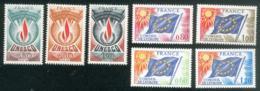 Lot 9070 France Série Service N°43 à 49 (**) - Neufs