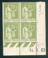 Lot 9096 France Coin Daté N°284A (**) - 1930-1939