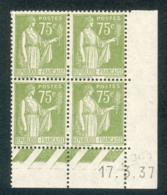 Lot 9104 France Coin Daté N°284A (**) - 1930-1939