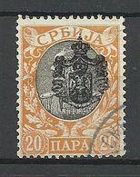 SERBIEN SERBIA 1903 Michel 66 O - Serbien