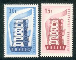 Lot B180 France N°1076/77 Europa De 1956 (**) - France