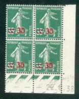 Lot C456 France Coin Daté Paix N°478(**) - Coins Datés