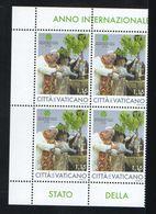 2020 - VATICAN - VATICANO - VATIKAN - S16A - MNH SET OF 4  STAMPS  ** - Vatican