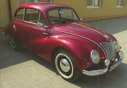 CAR * IFA F9 * EAST GERMANY * GERMAN DEMOCRATIC REPUBLIC * DDR * SLOVAKIA * SLOVAK * Top Card 0914 * Hungary - Turismo
