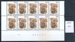 BELGIE * Nr 2269 * 10 Stuks - 140 Frank/franc * Postfris Xx - Belgium