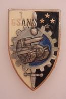 1° Compagnie De Soutien De L'Arme Nucléaire - Delsart Vers 1990 - S034 - - Esercito