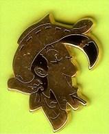 Pin's BD Lucky Luke Profil - 2F19 - BD