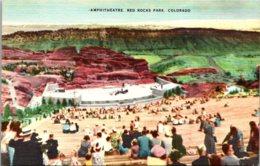 Colorado Red Rocks Park Amphitheatre - Etats-Unis