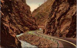 Colorado Rocky Mountains Big Thompson Canon 1958 Curteich - Rocky Mountains