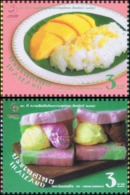 50th Anniversary Of Thailand - Singapore Diplomatic Relations: Desserts (MNH) - Thaïlande
