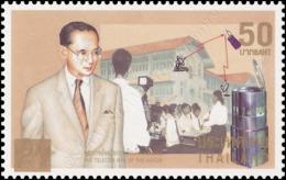 King Bhumibol-The Telecom Man Of Nation -OVERPRINT- (MNH) - Thaïlande
