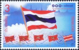 "The Centennial Of ""Triranga"" Flag (MNH) - Thaïlande"