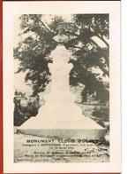 84- MENERRES- Monument Clovis  HUGUES-  Inauguré Le 28 Aout 1910- Retirage- Circulée 1992 - Francia