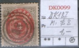 DANMARK 1870  DK 18 I - 1864-04 (Christian IX)